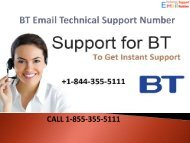 1-844-355-5111 BT Email Technical Support Number