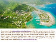 Sailing Holidays Caribbean