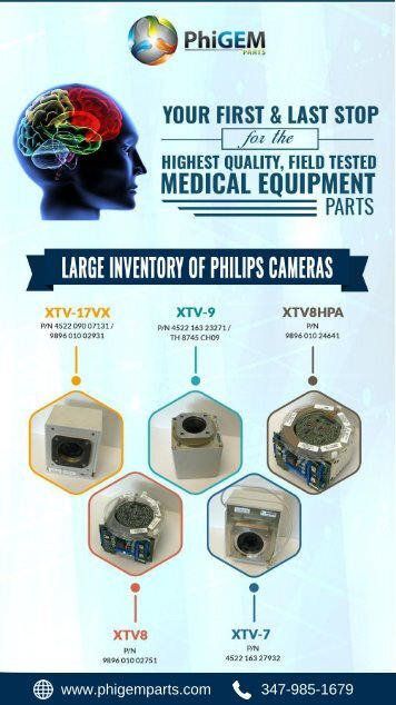 Best Quality Field-Tested Philips Cameras for your Medical Equipment