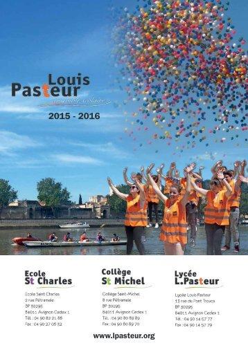 Louis Pasteur 2015 - 2016