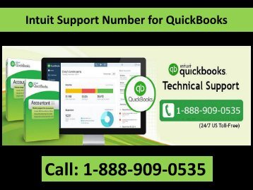 1-888-909-0535 Call Intuit Support Number