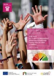 Metodika: Evaluace kulturních organizací zřizovaných městem