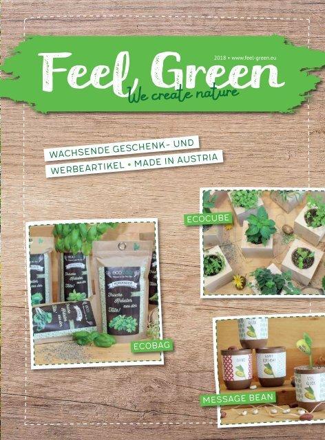 Feel Green Ecocube Bonhomme de Neige//Xmas Tree Plantes en Bois 100/% Ecofriendly Fabriqu/é en Autriche Grow Your Own//Culture Id/ée Cadeau Durable