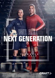 Craft Next Generation Teamwear 2018