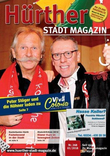 Hürther Stadt Magazin Januar 2018