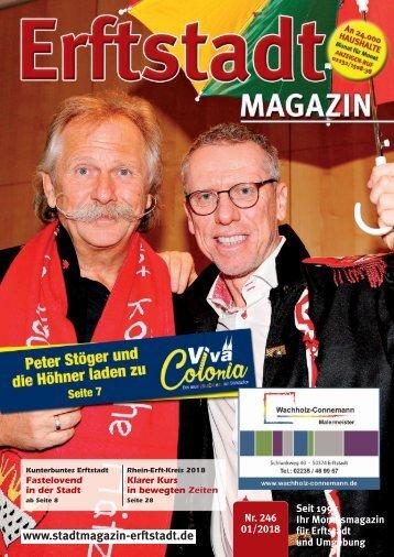 Erftstadt Magazin Januar 2018