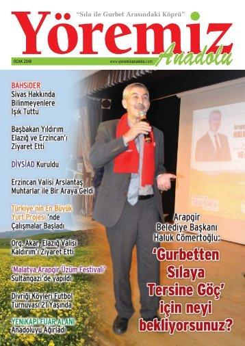 Yöremiz Anadolu