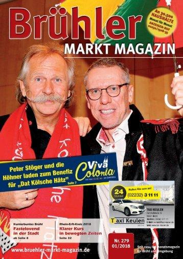 Brühler Markt Magazin Januar 2018
