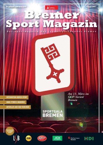 BREMER SPORT Magazin | Februar 2018