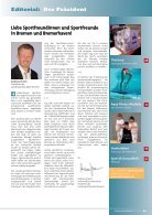 BREMER SPORT Magazin | Februar 2018 - Page 3