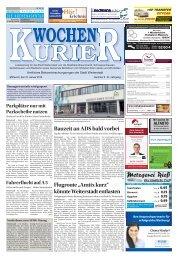 Wochen-Kurier 05/2018 - Lokalzeitung für Weiterstadt und Büttelborn