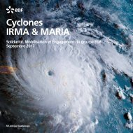 EDF - Cyclone IRMA & MARIA