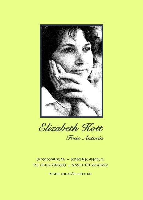 Broschüre der Autorin 2018