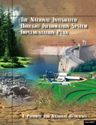 Table of Contents - National Drought Mitigation Center - The ...