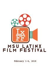 MSU Latinx Film Festival Event Program