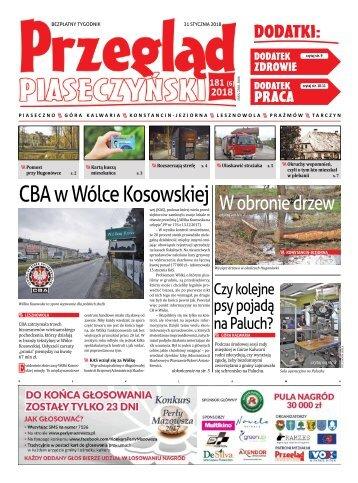 Przegląd Piaseczyński, Wydanie 181