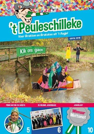 Peuleschilleke 2018
