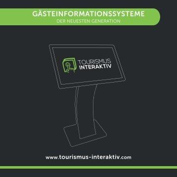 Tourismus Interaktiv - Touchscreens - Dezember 2017 - AT