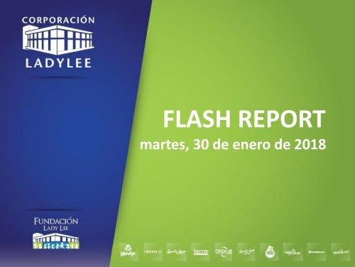 Flash Report  30 de Enero, 2018