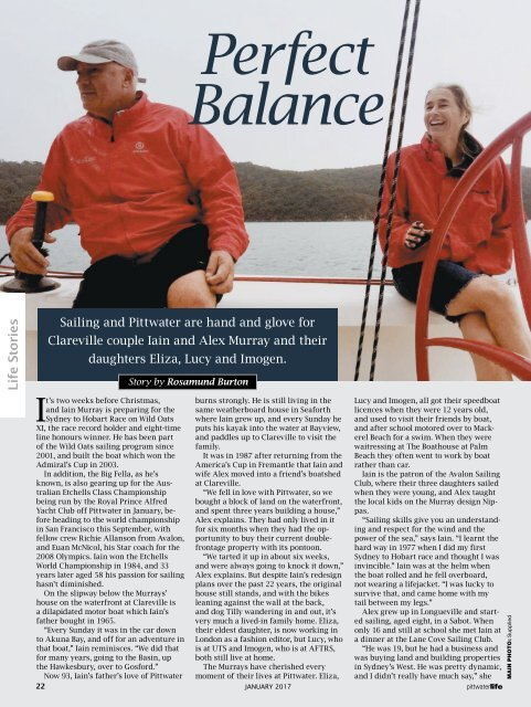 Pittwater Life January 2017 Issue