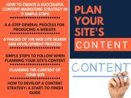 Plan Your Site's Content