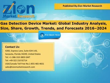 Gas Detection Device Market