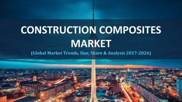 construction composites market sample report