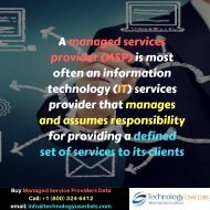 Managed Service Providers Email List