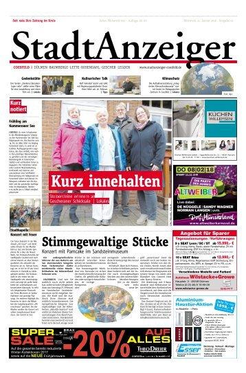 Stadtanzeiger Coesfeld kw 5