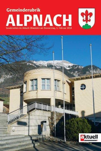 Gemeinde Alpnach 2018-05