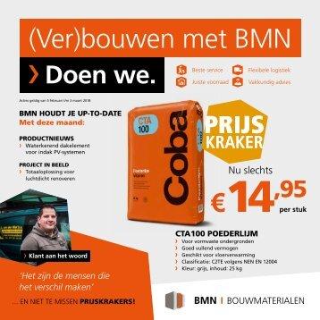 BMN krant - (ver)bouwen met bmn > doen we. Editie februari 2018