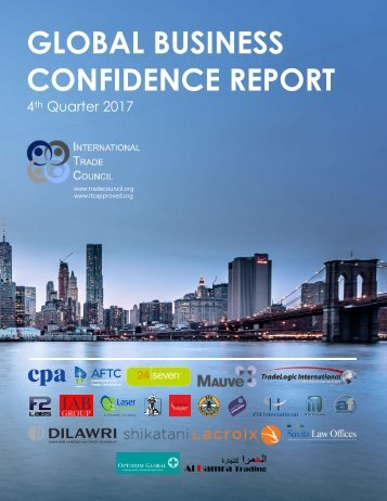 2017 4th Quarter International Trade Council Global Business Confidence Survey