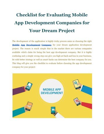 Mobile App Development Company | | FineSoft Technologies