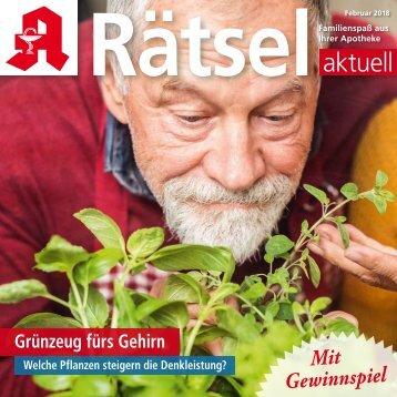 "Leseproben ""Rätsel-aktuell"" Februar 2018"