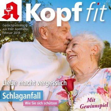 """Leseprobe """"Kopf-fit"""" Februar 2018"""