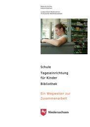 Schule Tageseinrichtung für Kinder Bibliothek Ein ... - Schulmediothek