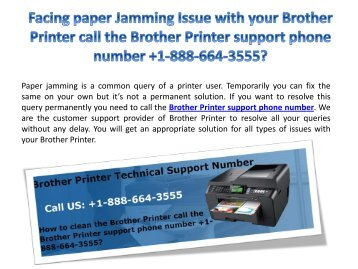 Get Instant Technical Support Services for Brother Printer Installation Issues +1-888-664-3555
