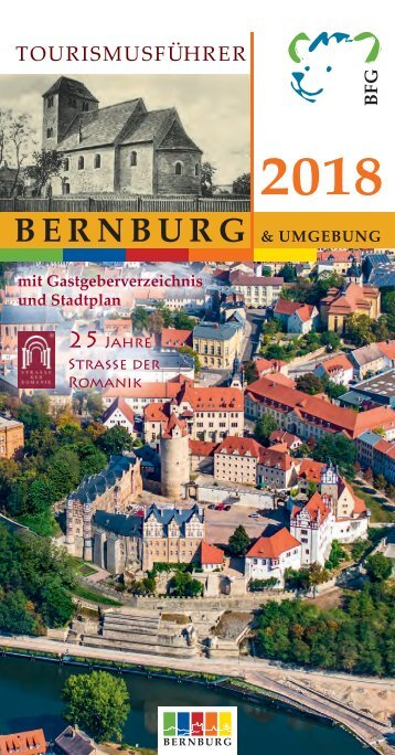 Tourismusführer Bernburg 2018