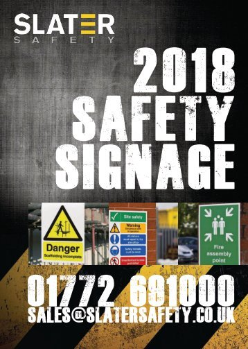 2018 Safety Sign Catalogue Full PDF