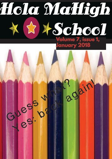 Hola MaHigh-School -  January 2018