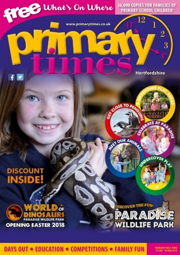 Primary Times Hertfordshire Feb 18