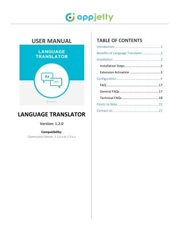 Language Translator For Magento 1