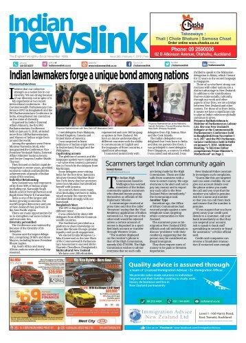Indian Newslink February 1 2018 Digital Edition