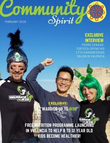 Community Spirit Valencia Feb 2018