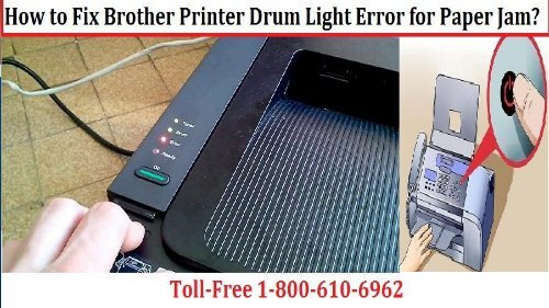 How to Brother Printer says paper jam but there is none? 1-800-610-6962