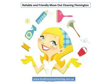 Reliable and Friendly Move Out Cleaning Flemington