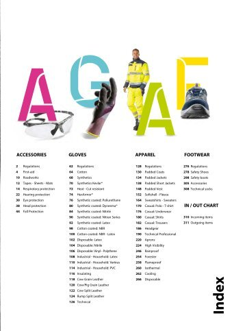 PPE and Workwear General Catalogue