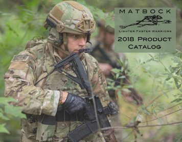 Matbock Catalogue 2018