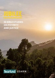 Jubilee 50 Bible studies on poverty and justice