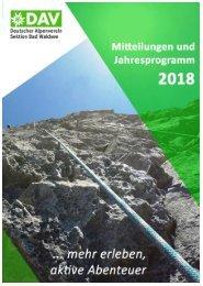 Sektionsprogramm 2018
